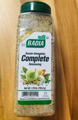Badia Complete seasoning,