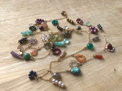 Bijoux Charm Necklace
