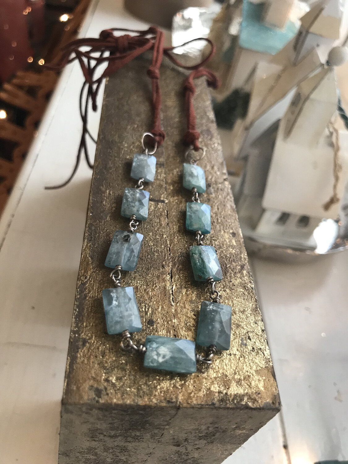 Radiant Kyanite Necklace