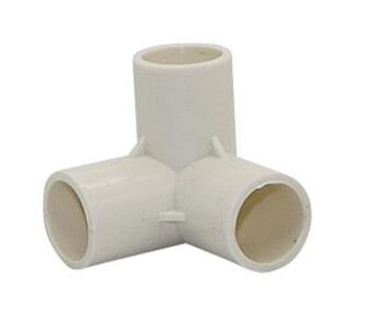 PVC Connector - 3 Way Elbow - 20mm