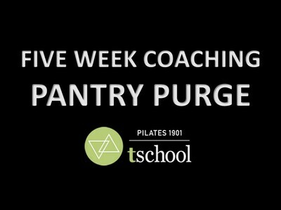 FIVE WEEK COACHING - PRIVATE PANTRY PURGE SESSION