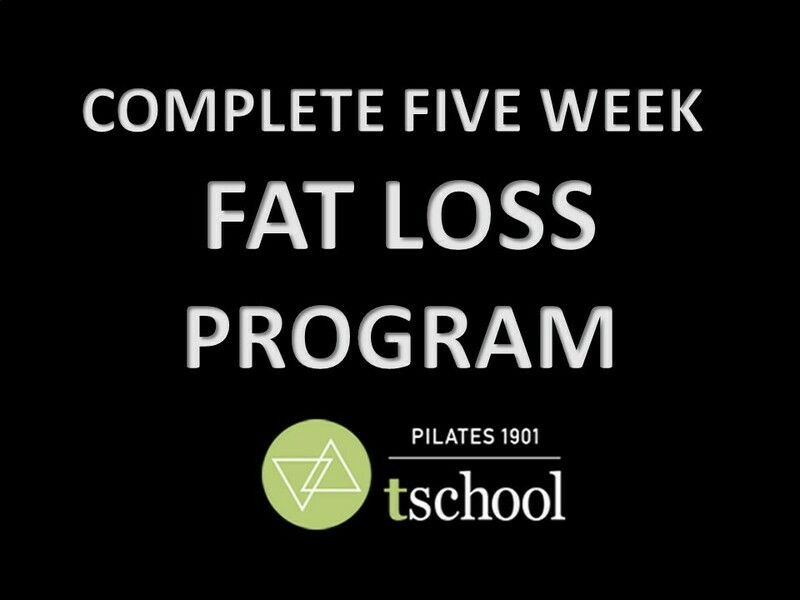 Five Week Fat Loss Program