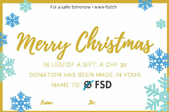 Donation Gift Certificate