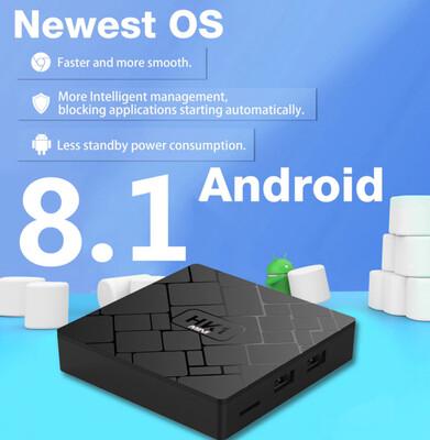 TV Box HK1 Mini (2 GB RAM & 16 GB ROM) 4K HD (Android 8.1)