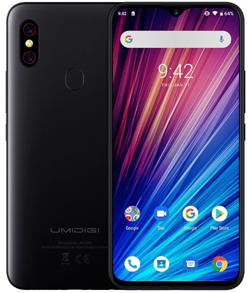 Umidigi F1 Play Unlocked Android 9.0 (6 GB RAM & 64 GB ROM) 48MP + 8MP (Unlocked Cell Phone)