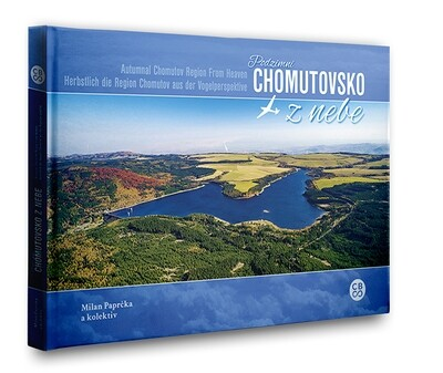 Podzimní Chomutovsko z nebe