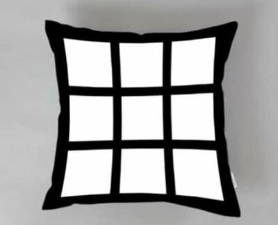 9 Panel Throw Pillow - Sublimation
