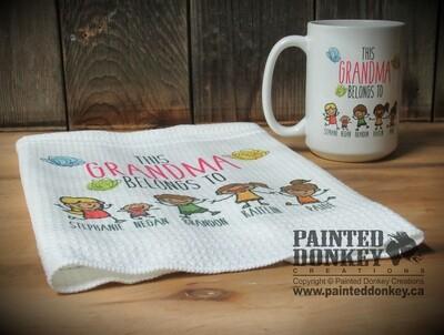 Waffle Weave Tea Towel 16
