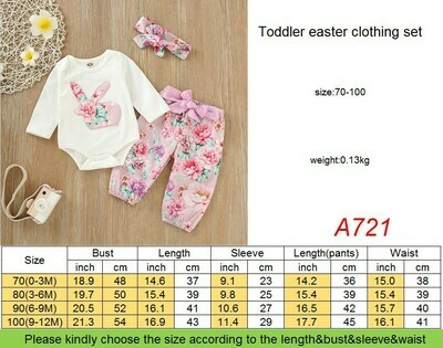 Girls Easter Outfit (3 pieces)