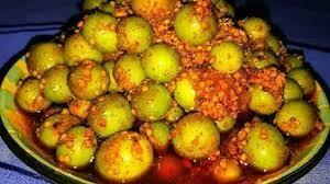 Handmade Karonda Pickle, with cold press Mustard oil. 700 grams [Next season: July 2019]