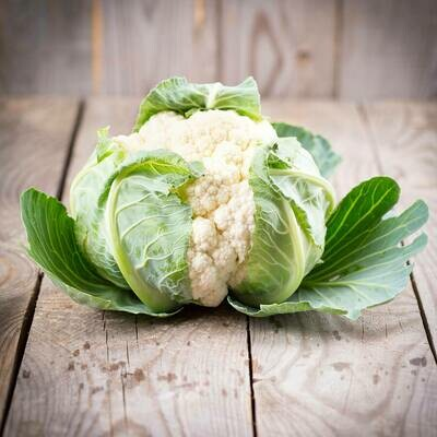 Cauliflower, naturally grown 1Kg [Seasonal]