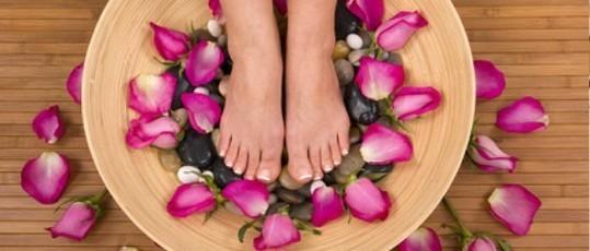 Aromaöl-Fußmassage 40 Min