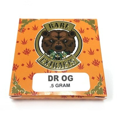 Bare Extracts Doctor OG - Nug Run Shatter