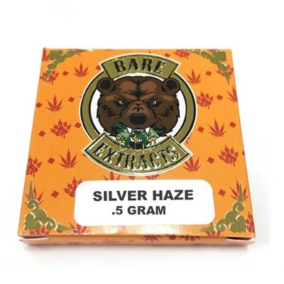 Bare Extracts Silver Haze - Nug Run Shatter