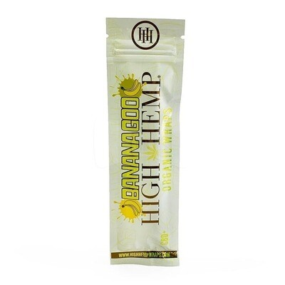 High Hemp Organic Wraps - Banana Goo