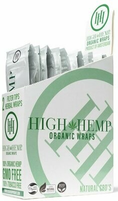 High Hemp Organic Wraps - Original