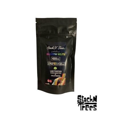 Stack N' Trees - Rainbow Belts 420mg
