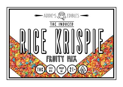 Addie's Edibles - Fruity Rice Krispie 500mg