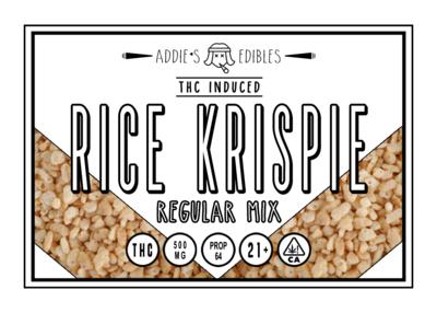 Addie's Edibles - Regular Rice Krispie 500mg