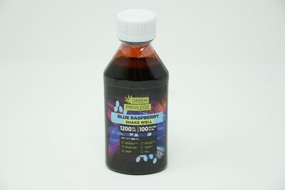 Green Privilege - Blue Raspberry Syrup 1200mg