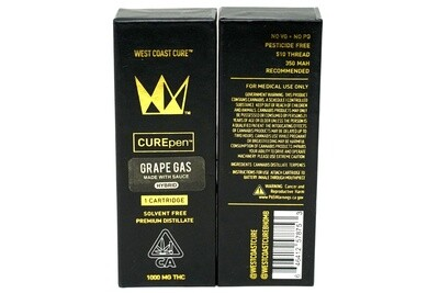 West Coast Cure Pen - Grape Gas