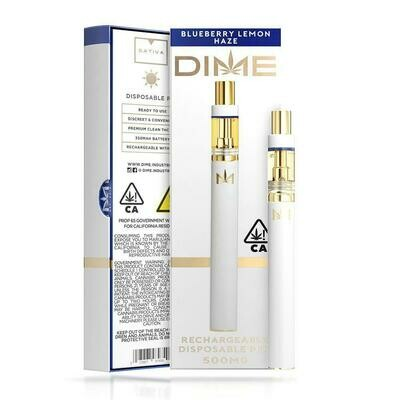 DIME Disposable - Blueberry Lemon Haze 500mg