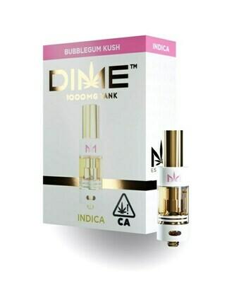 DIME Cartridge - Bubble Gum Kush 1000mg