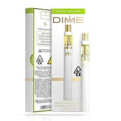 DIME Disposable - Apple Gelato 500mg