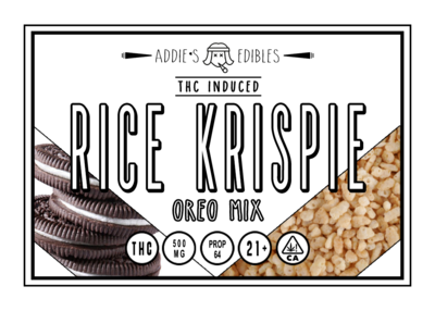 Addie's Edibles - Oreo Mix Krispie 500mg