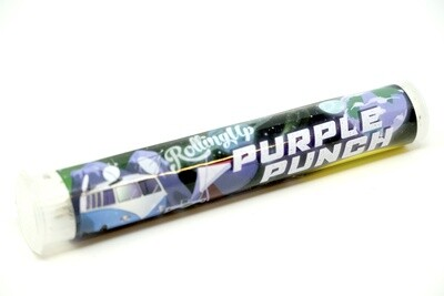 Rolling Up House Roll - Purple Punch