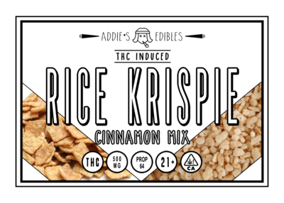 Addie's Edibles - Cinnamon Mix Rice Krispie 500mg
