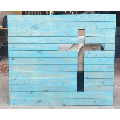 Wooden Cross Wall Decor