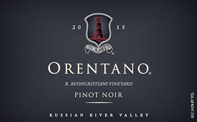 2015 Pinot Noir, R. Buoncristiani Vineyard, Russian River Valley