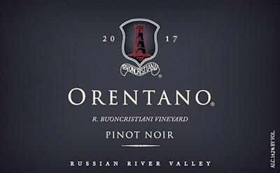 2017 Pinot Noir, R. Buoncristiani Vineyard, Russian River Valley