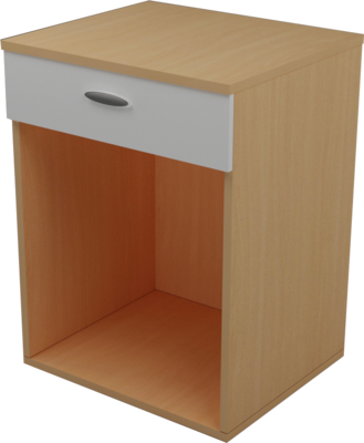 Open Mini Bar with Drawer