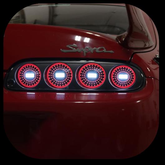 Supra Mkiv Zled Tail Light Conversion