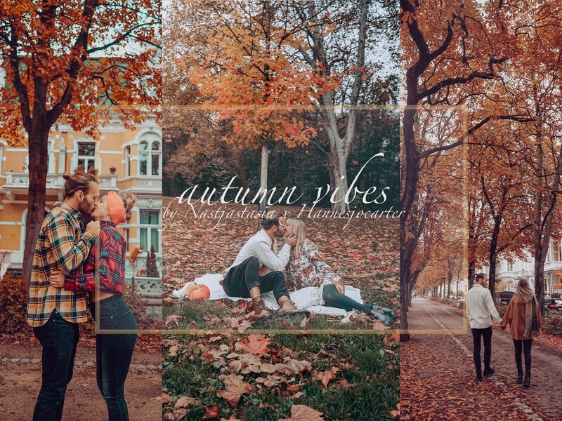 Autumn Vibes - Desktop & Mobile
