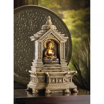 GOLDEN BUDDHA TEMPLE FOUNTAIN by Cascading Fountains