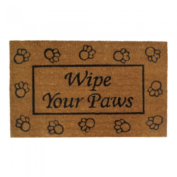 WIPE YOUR PAWS WELCOME MAT by Summerfield Terrace