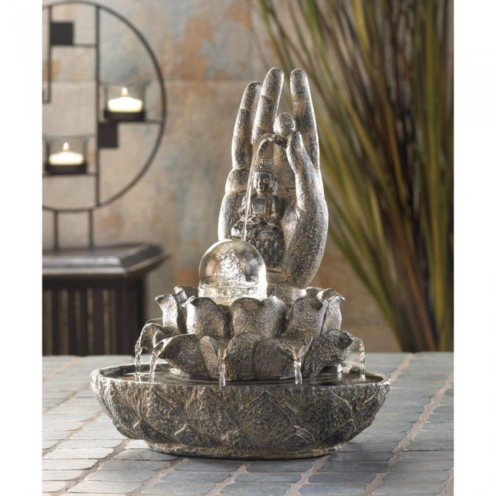 HAND OF BUDDHA FOUNTAIN by Cascading Fountains