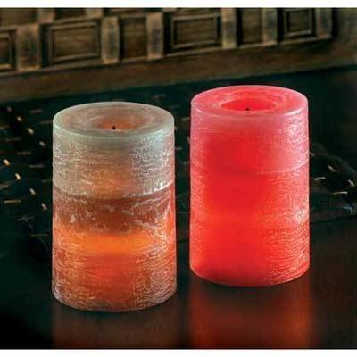 SCENTED FLAMELESS CANDLES