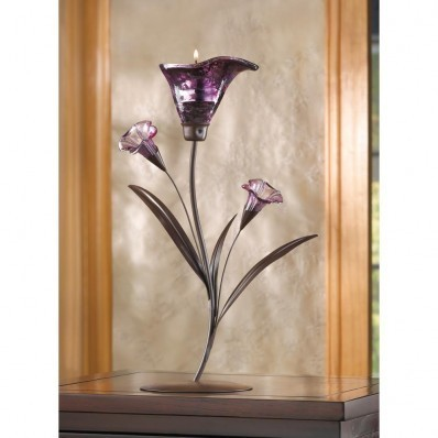 14575 Twilight Bloom Tealight Holder