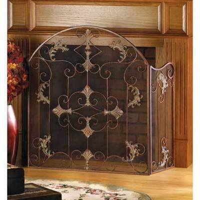 FLORENTINE FIREPLACE SCREEN by Accent Plus