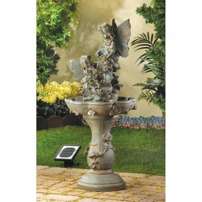 FAIRY SOLAR WATER FOUNTAIN by Cascading Fountains