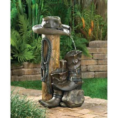 WILD WESTERN WATER FOUNTAIN by Cascading Fountains
