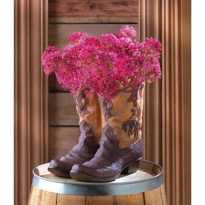 COWBOY BOOTS PLANTER by Summerfield Terrace