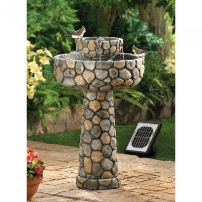 WISHING WELL SOLAR WATER FOUNTAIN by Cascading Fountains