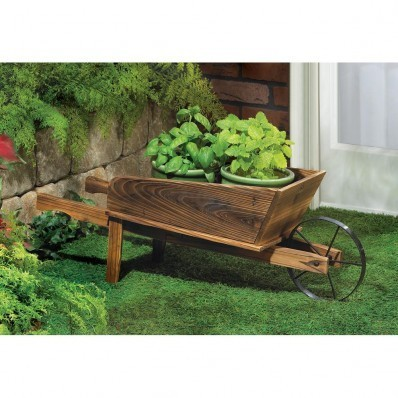 COUNTRY FLOWER CART PLANTER by Summerfield Terrace