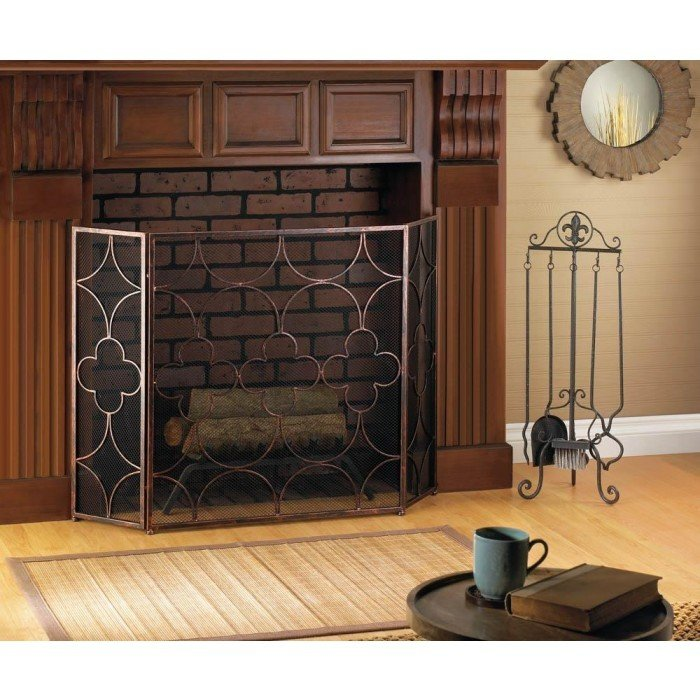 CLOVER FIREPLACE SCREEN by Accent Plus