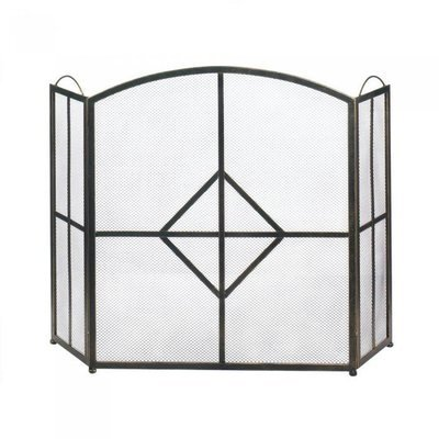 DIAMOND FIREPLACE SCREEN by Accent Plus